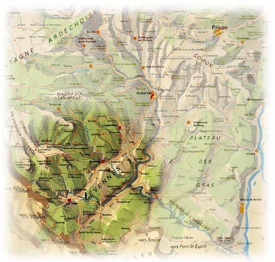 Cevennen Karte.Tourenberichte Beim Rcpfeil Neckarsulm E V